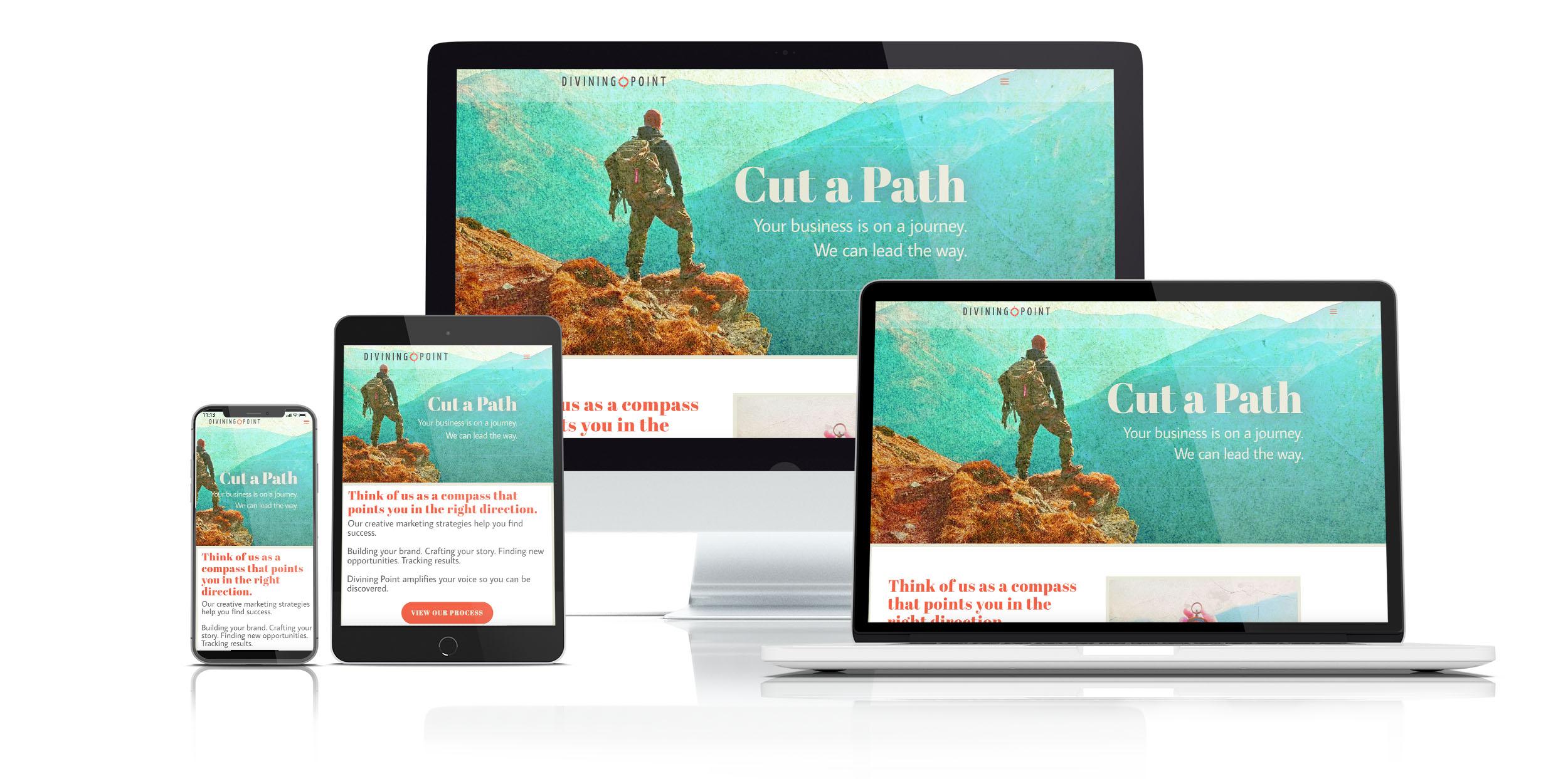 Divining Point LLC website designed by Sharon DeCaro